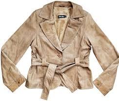 Tan Belted Jacket