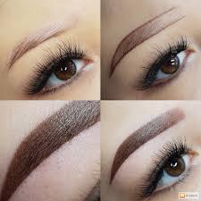 перманентный макияж брови фото