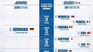 Debutto olimpico per il 3×3, debutto olimpico anche per l. Olimpiadi Tokyo Tutte Le Gare Delle Nazionali Di Pallacanestro Dove E Quando Vederle