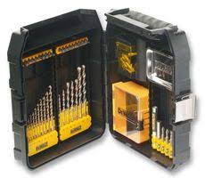 dewalt metal drill bit set. dt9281-qz - extreme masonry \u0026 metal drill bit set 63 piece dewalt