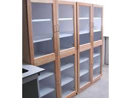 dvd shelves with glass doors wooden glass door storage cabinet