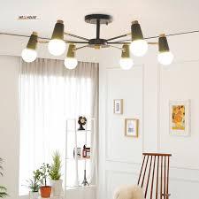 simple chandeliers wrought iron living room bedroom study children s room nordic lighting office lights