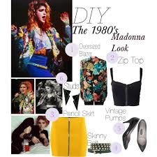 weekend wardrobe diy 80 s madonna costume trends tribulations