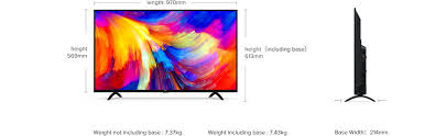 Mi Led Smart Tv 4a 43 Specification Mi India