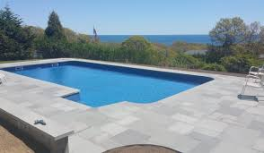 montauk pool patio contractors bluestone pool patio construction montauk long island