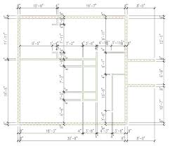 autocad architecture walls ready layout imperial