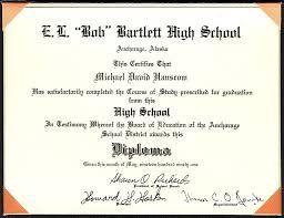 My High School Diploma Michael Hanscom Flickr