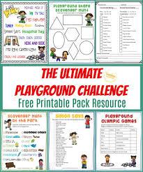 equipment free outdoor games your kids