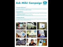 dairy council ask milk by dentsu inc promotion event