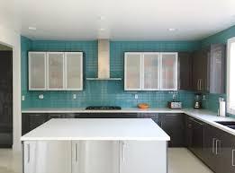 modern kitchen tile. Aqua Glass Subway Tile Modern Kitchen Backsplash Outlet