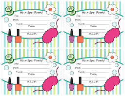 Online Birthday Invitations Templates Interesting Spa Birthday Party Invitations Spa Birthday Party Invitations With A