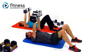 upper body tabata workout intense 60 minute back shoulders and arms workout you
