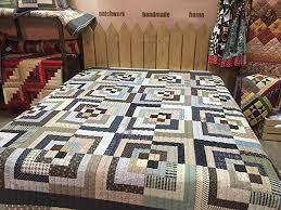 Amazon.com: Handmade,Modern Patchwork Quilt,Loft,Double,King or ... & Handmade,Modern Patchwork Quilt,Loft,Double,King or Queen Bed Throw, Adamdwight.com