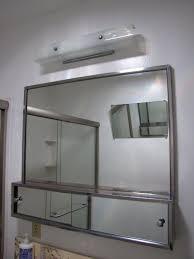 custom bathroom lighting. Modern Mirror Medicine Cabinet With Framed Bathroom And Lighting Vanity Custom