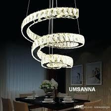 small chandelier lights led modern crystal chandeliers spiral chandelier lights fixture dimming hanging lamp cafes villa home indoor lighting small