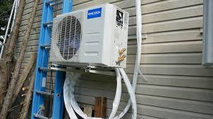 picture of connect refrigerant lines electrical