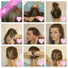 Very Easy Cute Hairstyles Ideas About Super Cute And Easy Hairstyles Hairstyles With Bangs