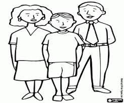 Disegni Di Famiglia Da Colorare E Stampare