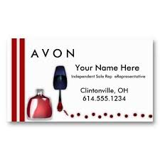avon business cards 17 best avon business cards templates images on