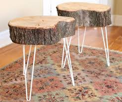 amazing pin linda harold on tree trunk tree trunks wood stump end table ideas