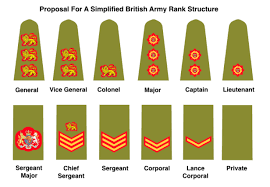 British Rank Insignia Chart Do We Need To Simplify The Rank Structures Of Uk Armed