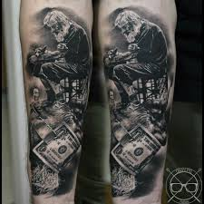Tattoo Uploaded By Lightsout Blackandgrey Blackandgreytattoo