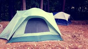 tent from exterior
