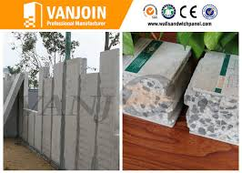 good chemical resistance sandwich wall panels fireproof concrete wall board