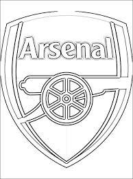 Kleurplaten Arsenal Fc Logo Gratis Kleurplaten
