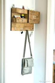 hanging mail organizer hanging mail holder mail organizer brilliant wall organizers you will love to make