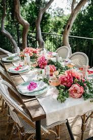 garden bridal shower wedding party ideas