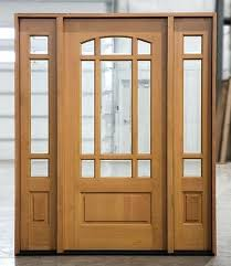 fir doors or sidelights natural entry with sidelites door only clearance