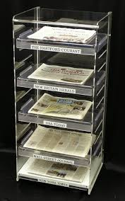 Newspaper Display Stands Best Acrylic Newspaper Stand Classroom Pinterest Newspaper