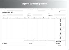 Simple Report Template Simple Expense Report Template For Excel Haydenmedia Co