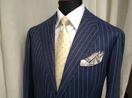 Italian Suit Designers Pino Peluso Suit Bespoke Handmade Made To Measure
