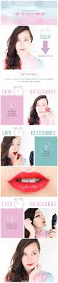 quick summer makeup tutorial photography by amy nadine graphic design by eunice chun