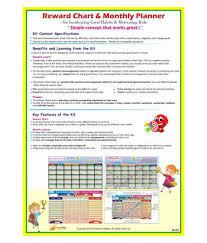 Good Chart For Kids Stepstodo Reward Chart Monthly Planner Inculcate Good