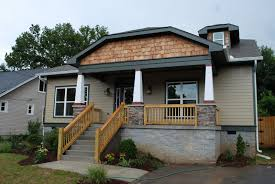 exterior wood columns. columns and solid oak wood exterior handrails. beauteous s