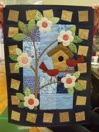 Kim Schaefer's Calendar Quilts, March &  Adamdwight.com
