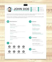 Graphic Designer Resume Template Simple Website – Vanilja