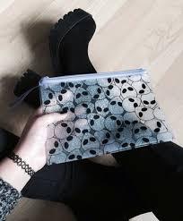 bag alien grunge transpa bag boots pastel goth goth transpa pouch pencil case