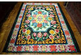 vintage moldovan kilim rug 183x251cm