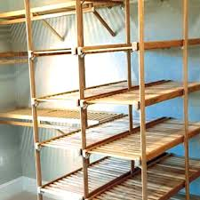 even wire shelving manufacturers offered ventilated hardwood shelving most of those ventures were too small to succeed now there is gregory wood s