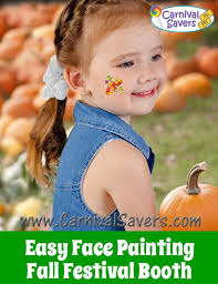 easy fall face painting