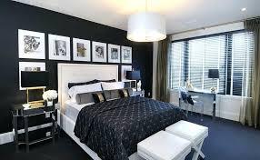 Black And Gold Bedroom Design | Architectural Design