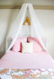 Diy Girls Bed Net Canopy