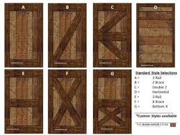 barn door designs regarding inspire interior