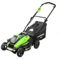 «<b>Аккумуляторная</b> бесщеточная <b>газонокосилка greenworks</b> ...