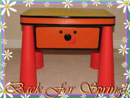 side table drawer blues clues. Blues Clues Stickers Notebook Side Table Sidetable LOT Drawer E