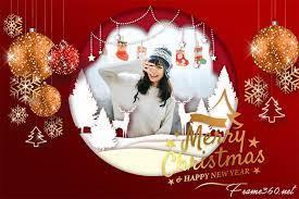 merry christmas photo frames free